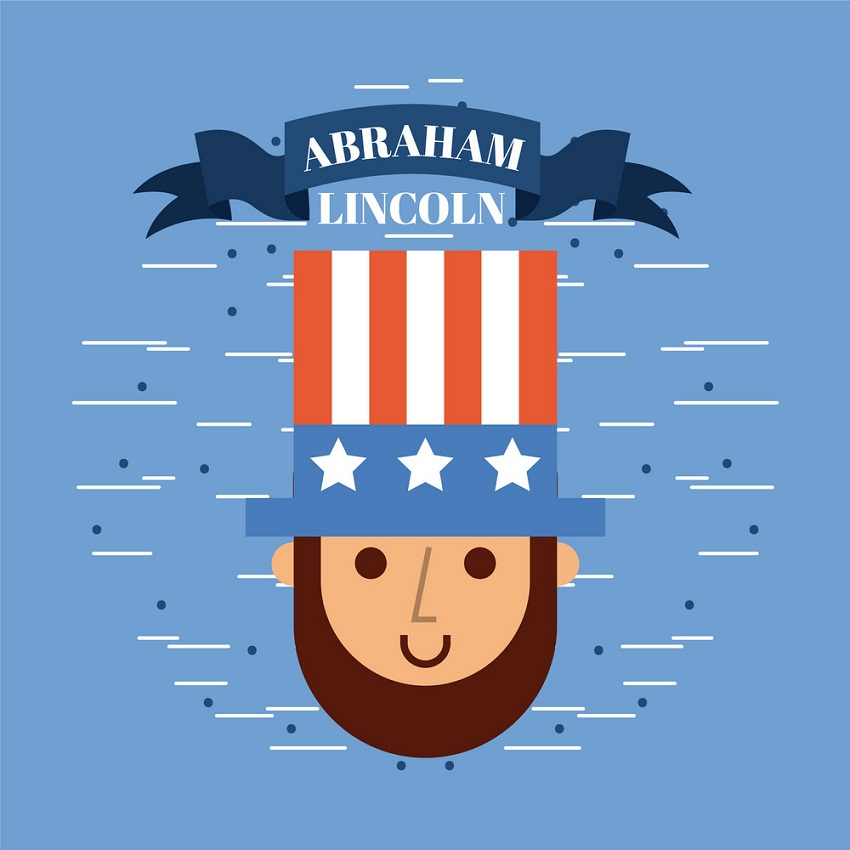 abraham lincoln icon design