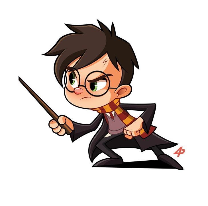 angry harry potter