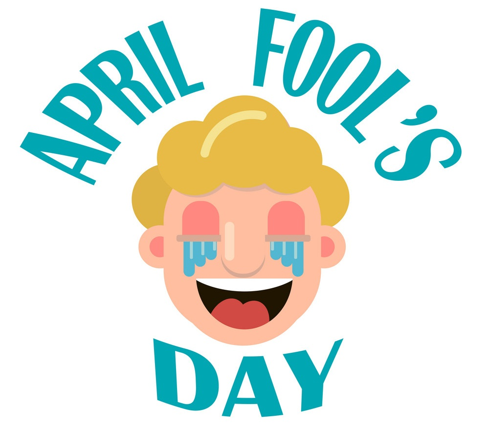 april fool's day with face