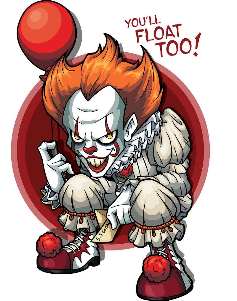 bad clown pennywise