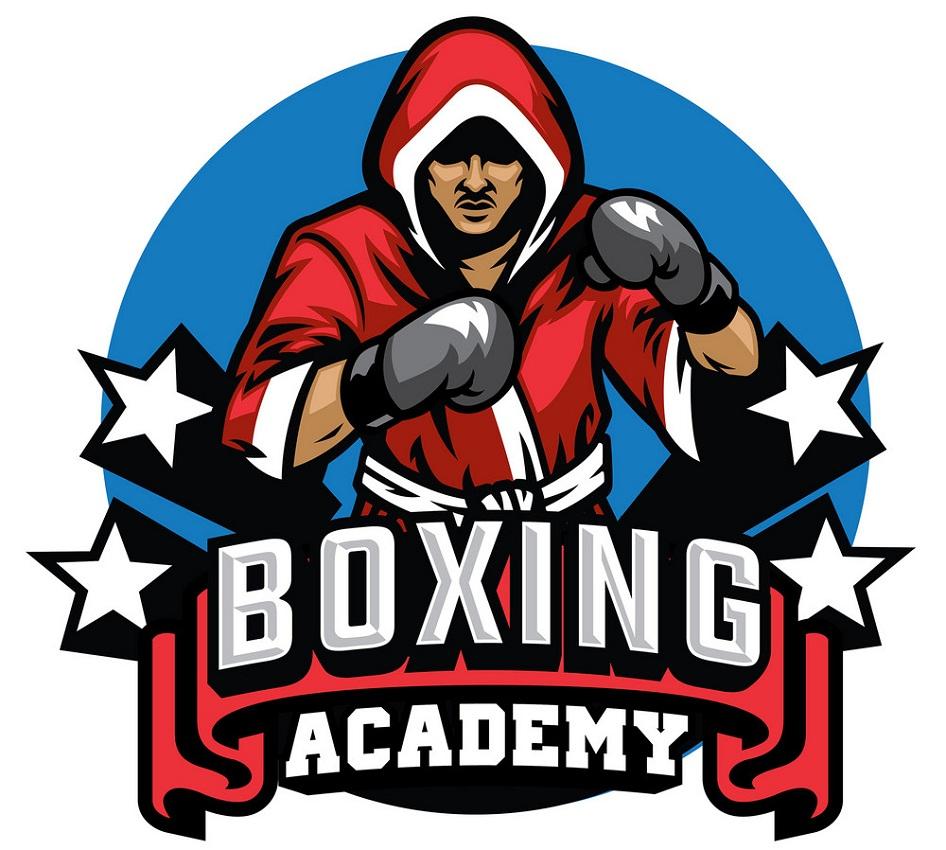 boxing badge design