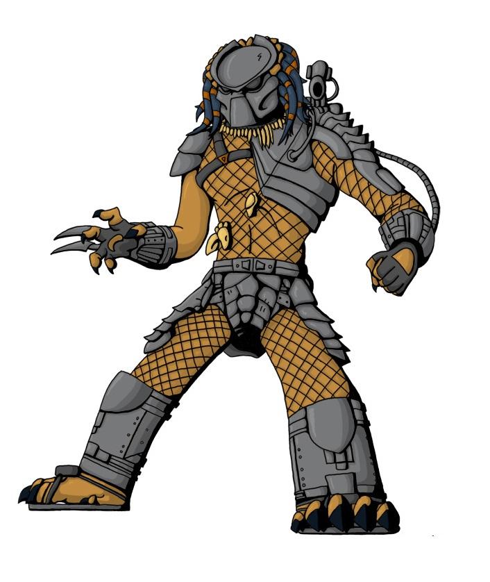 cartoon predator