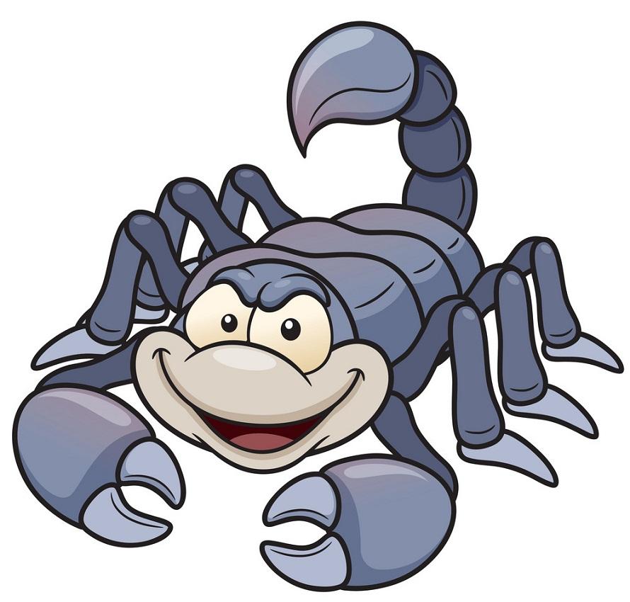 cartoon scorpion