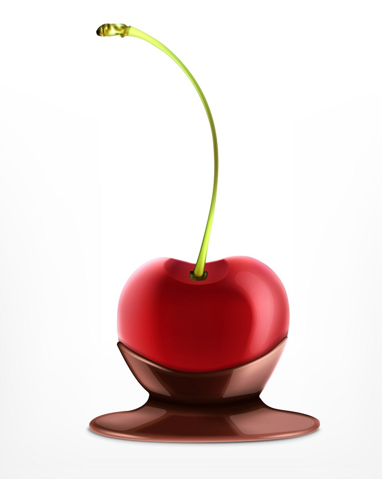 cherry in chocolate