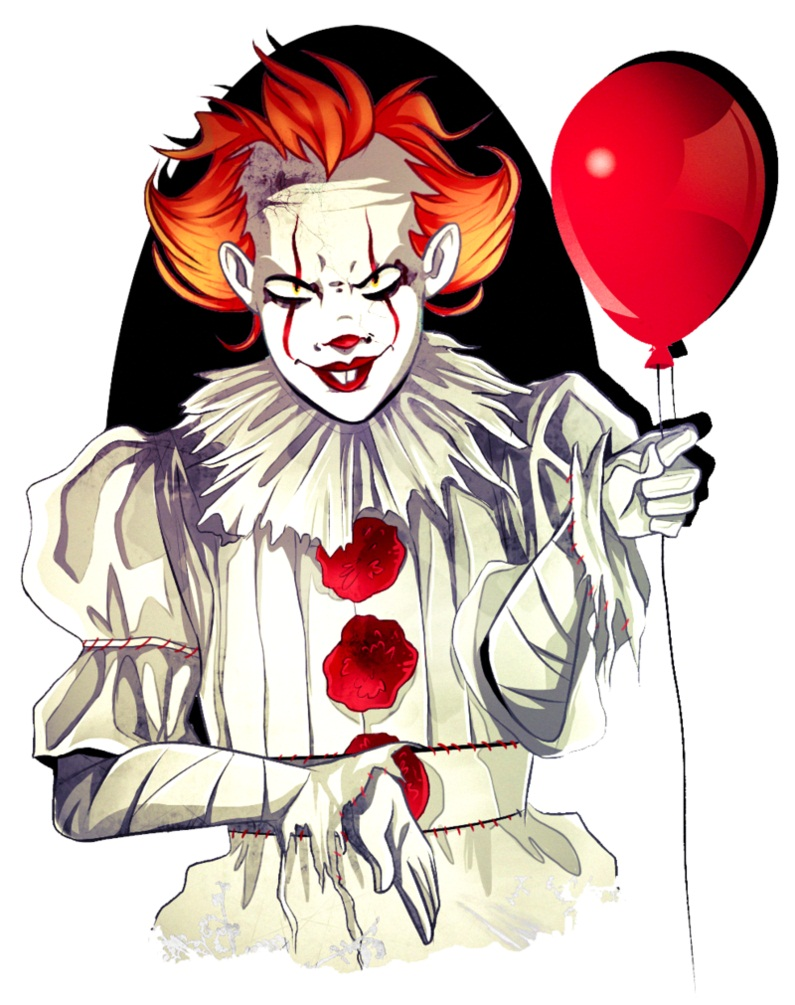 creepy clown pennywise