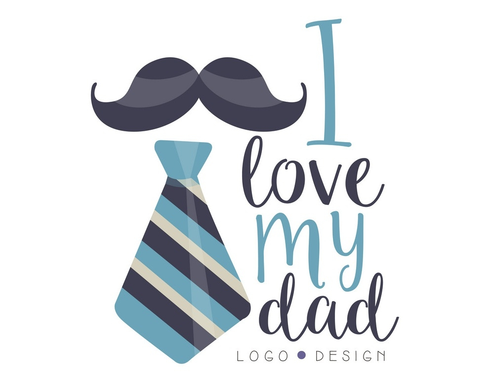 father's day logo design
