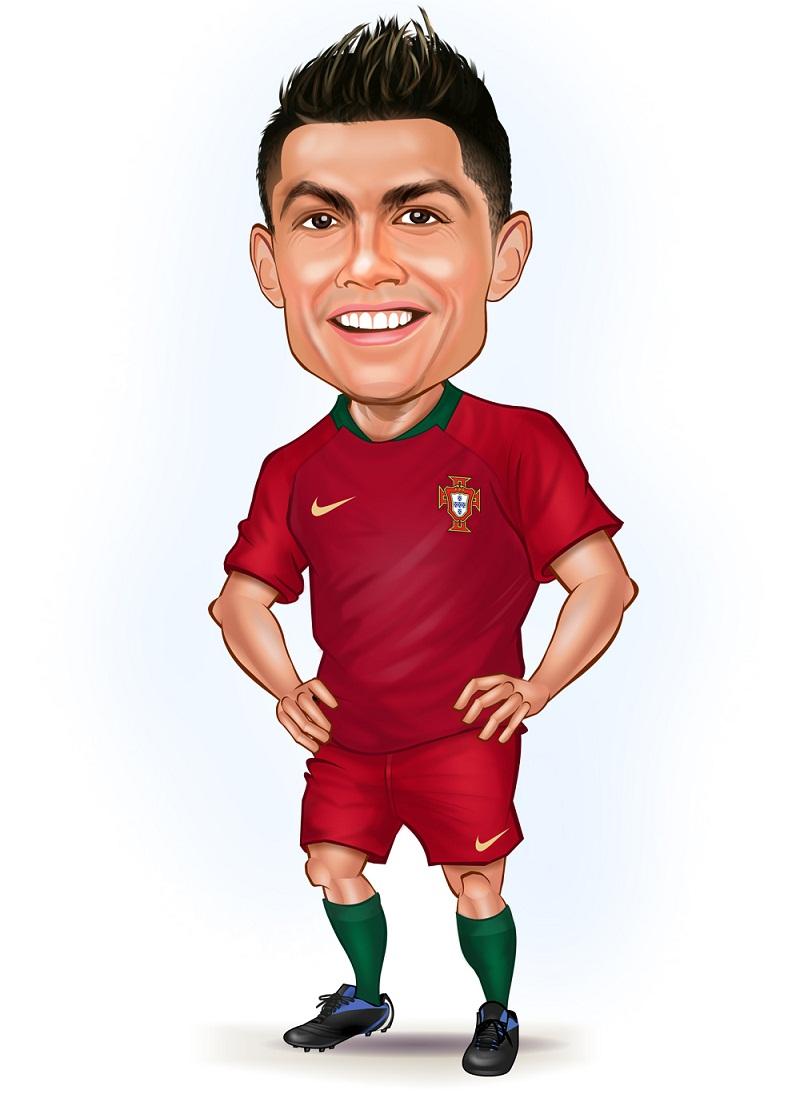 funny cristiano ronaldo smiling