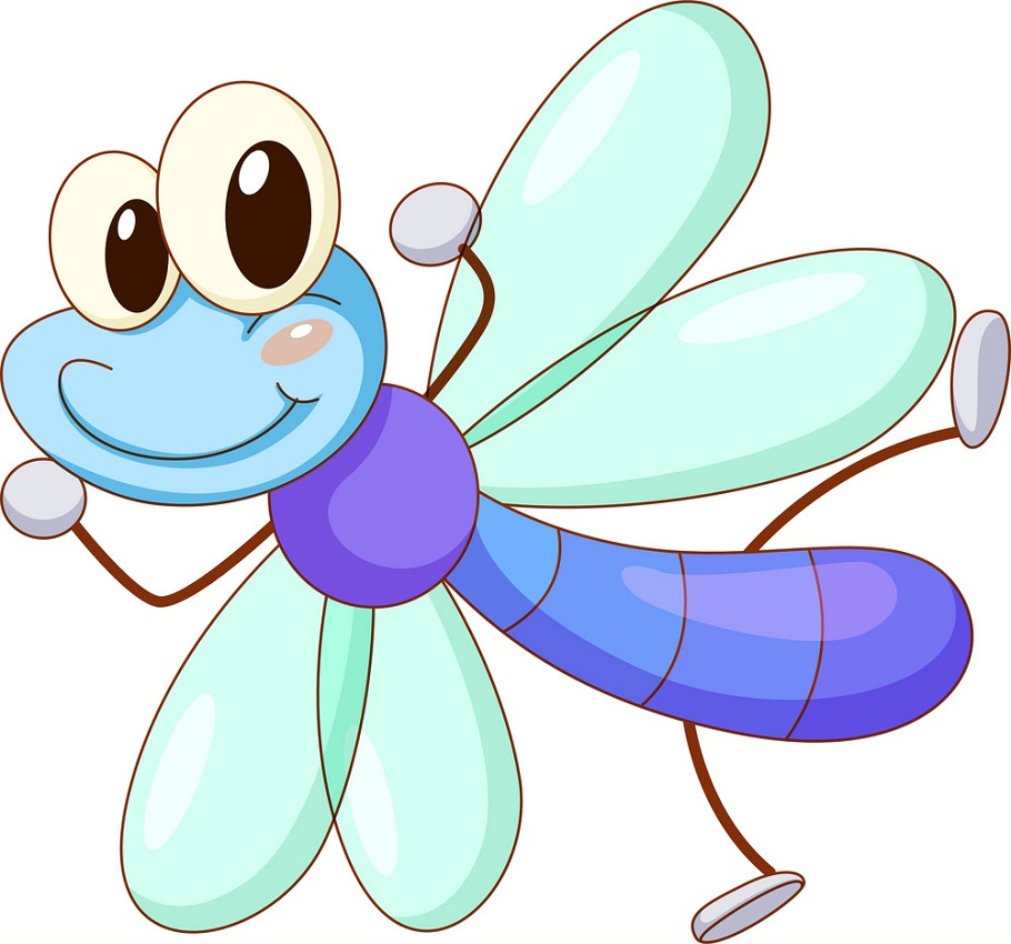 funny dragonfly