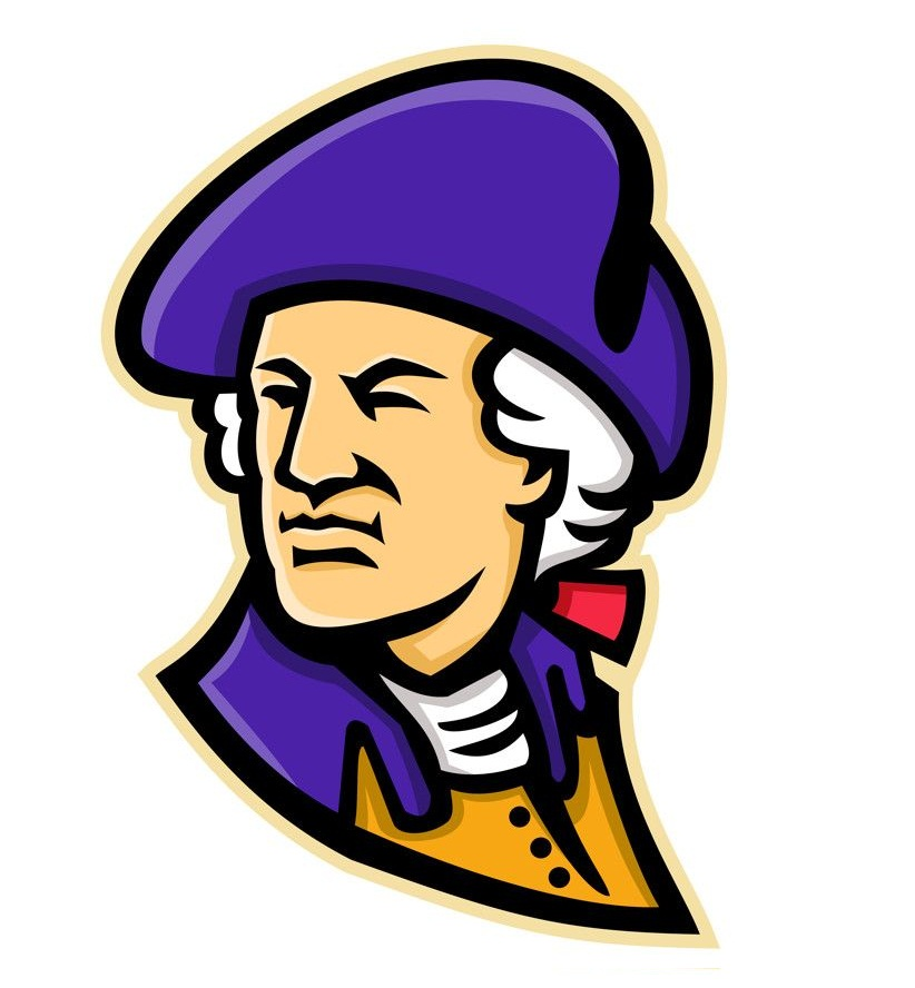 george washington mascot