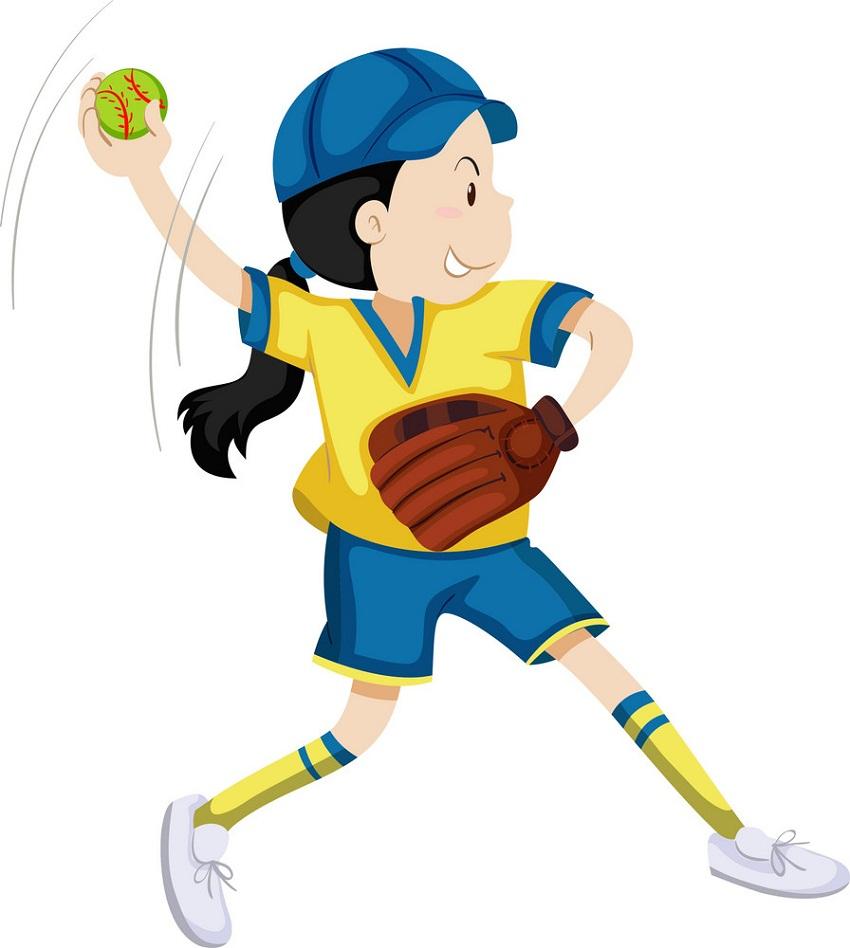 girl softball pitcher 1