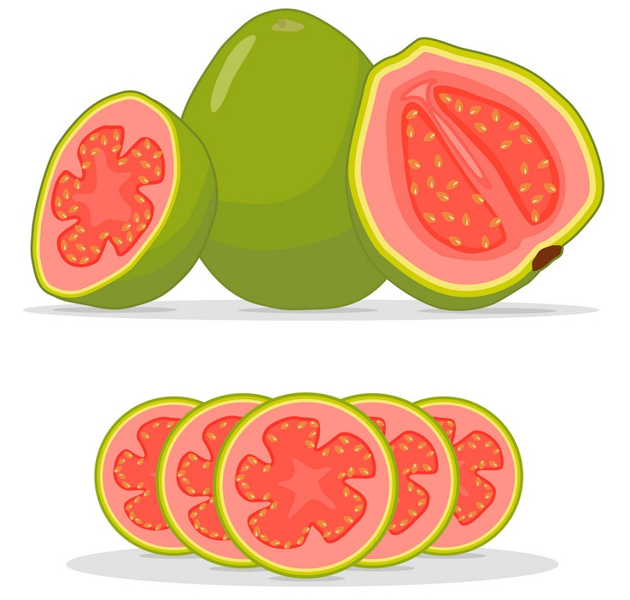guava and slices