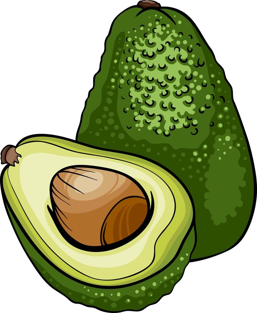 half and whole avocado 1