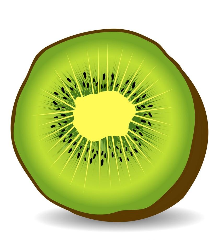 half of kiwi