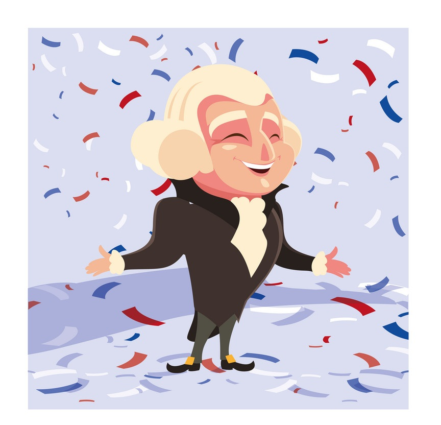 happy george washington