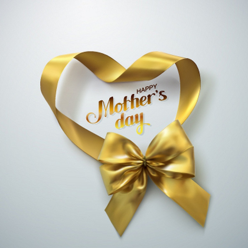 happy with yellow ribbon