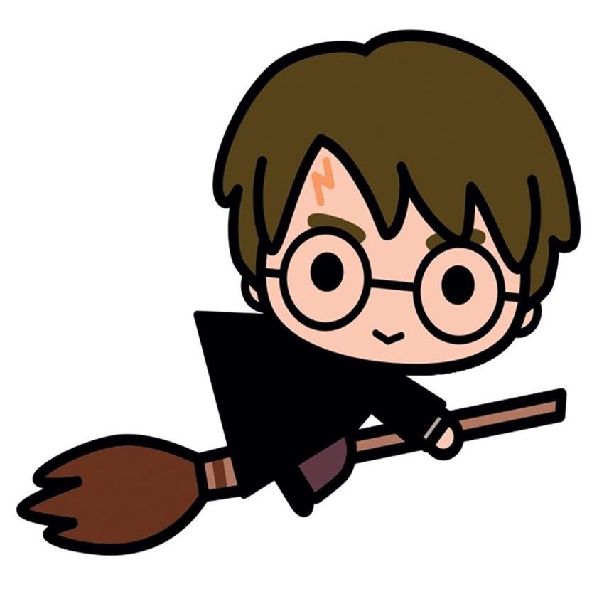 harry potter flying