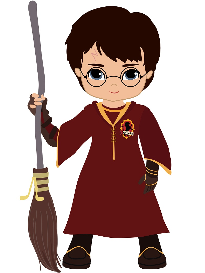 harry potter playing quidditch