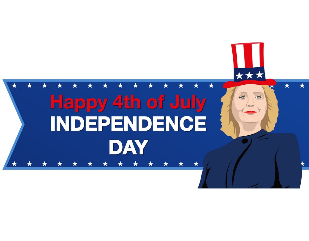 hillary clinton independence day