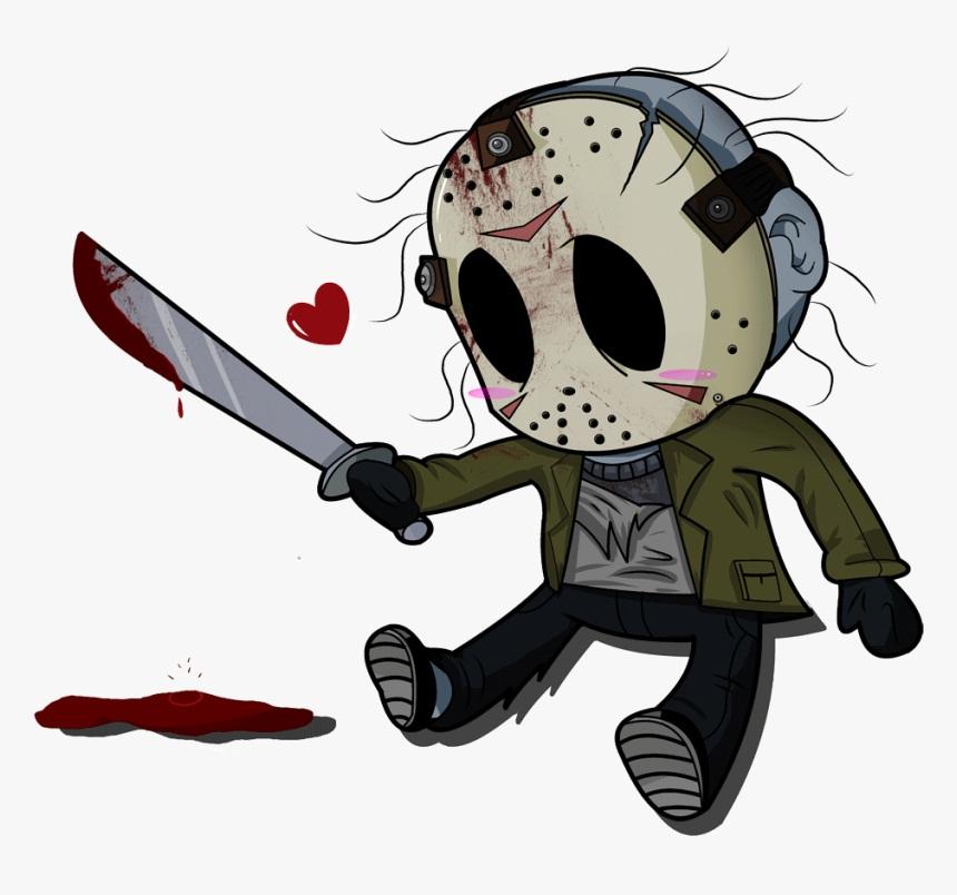 jason and bloody machete