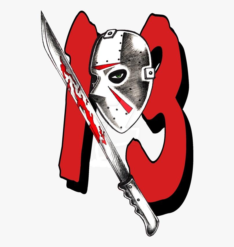 jason mask with machete