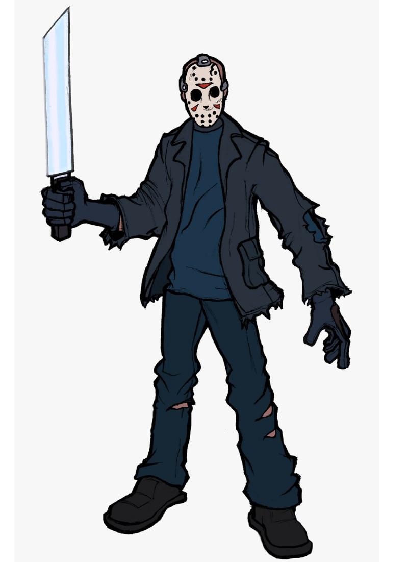 jason with big machete