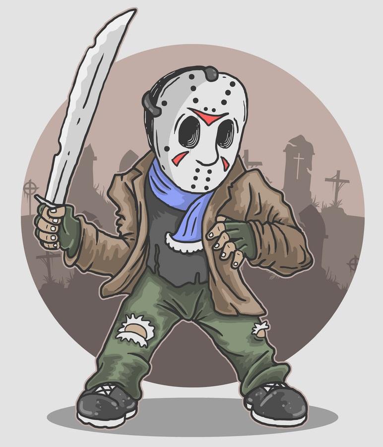 jason with machete