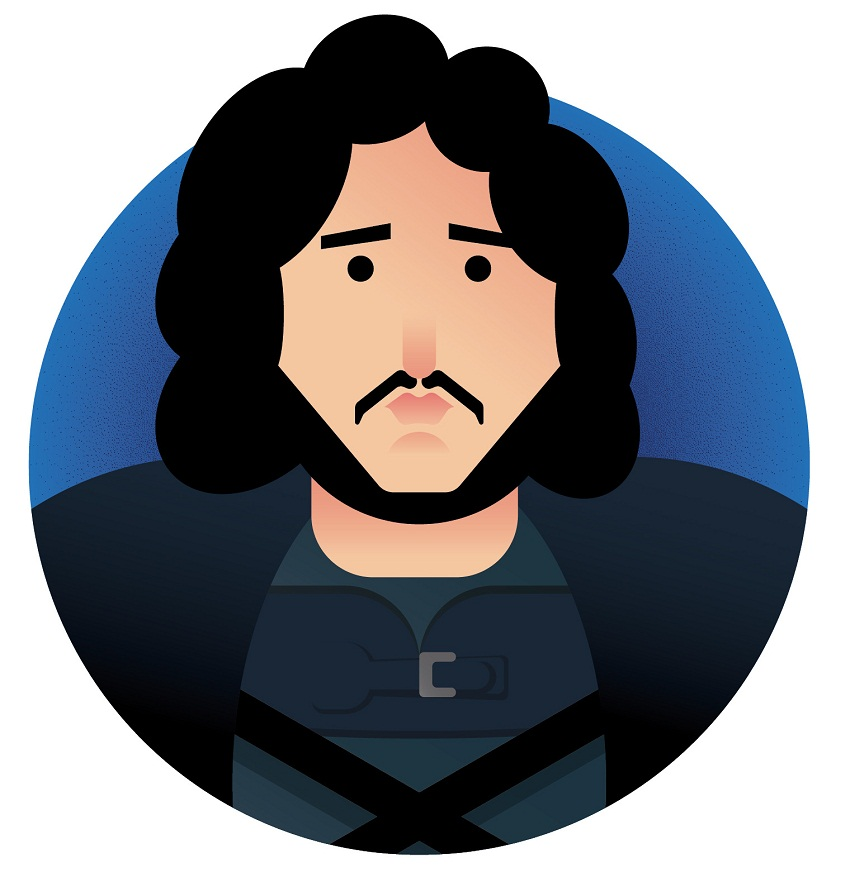 jon snow icon