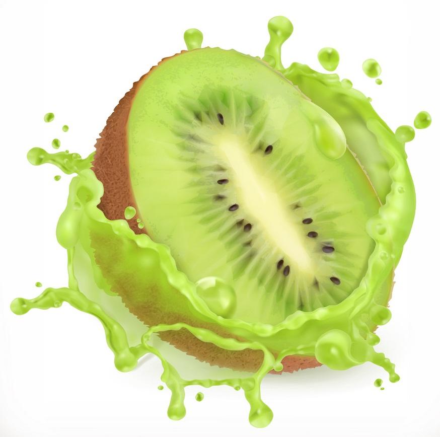 juicy fresh kiwi fruit