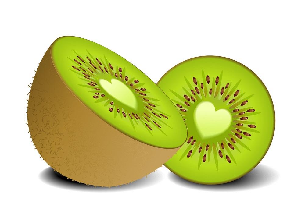 kiwi fruit heart