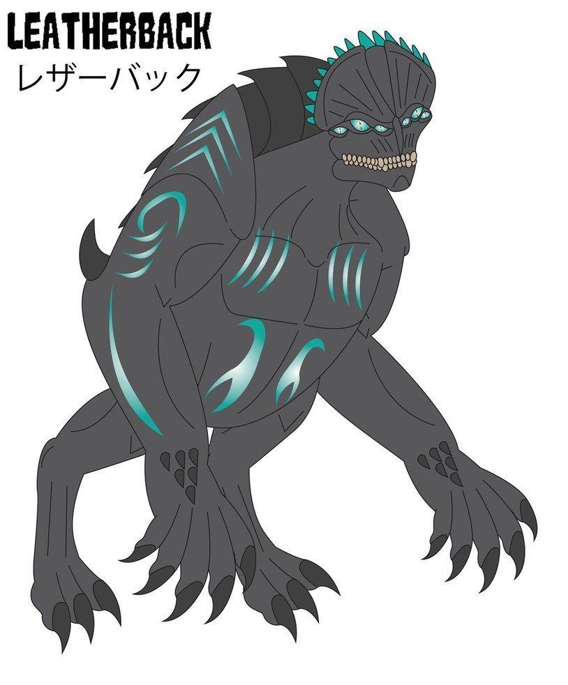 leatherback kaiju