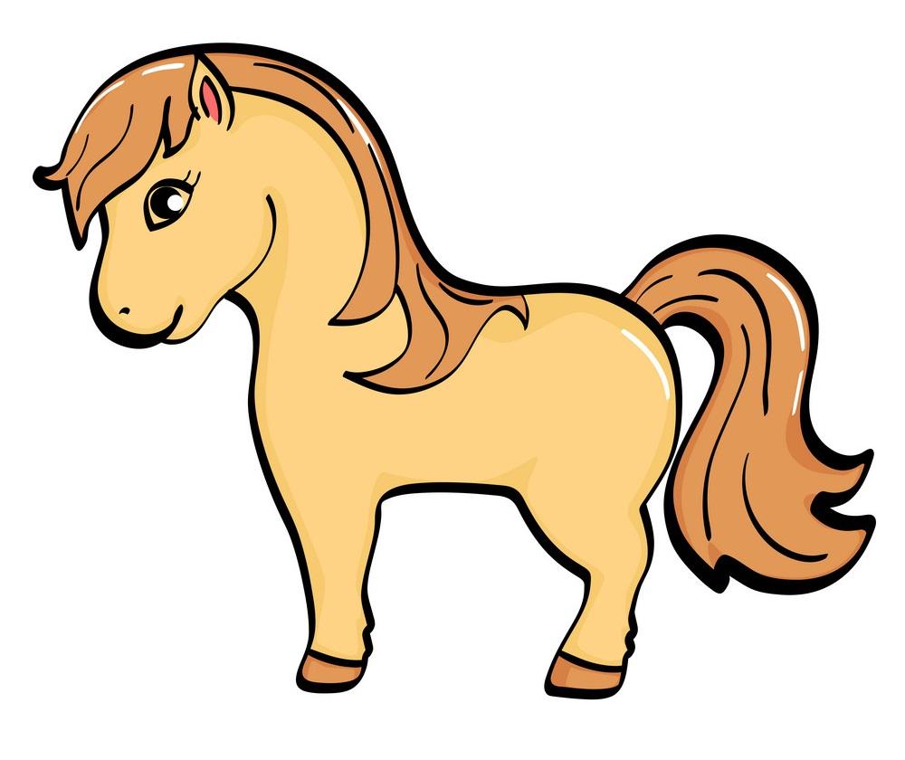 little simple horse