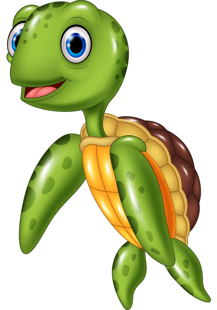 lovely sea turtle