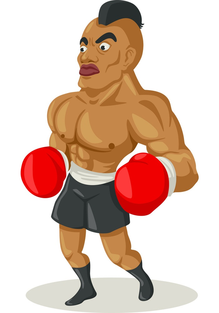 muscle boxer