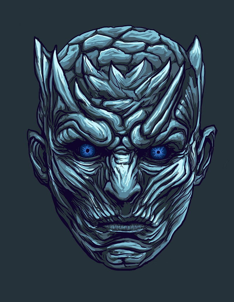 night king head