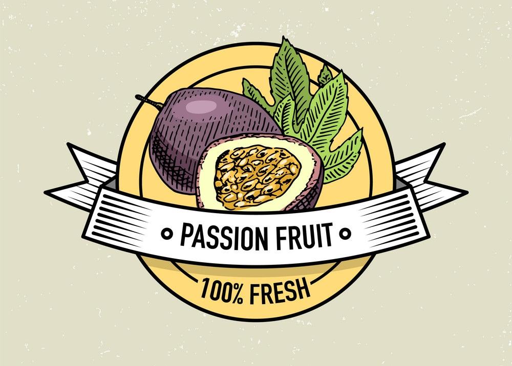 passion fruit vintage logo