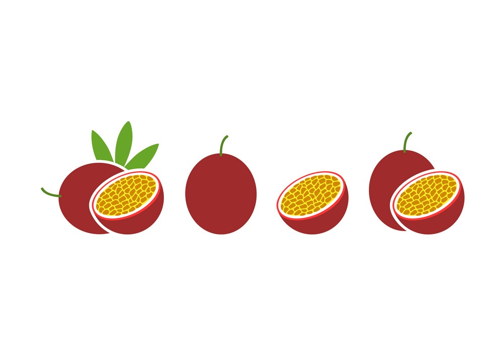 passion fruits icons
