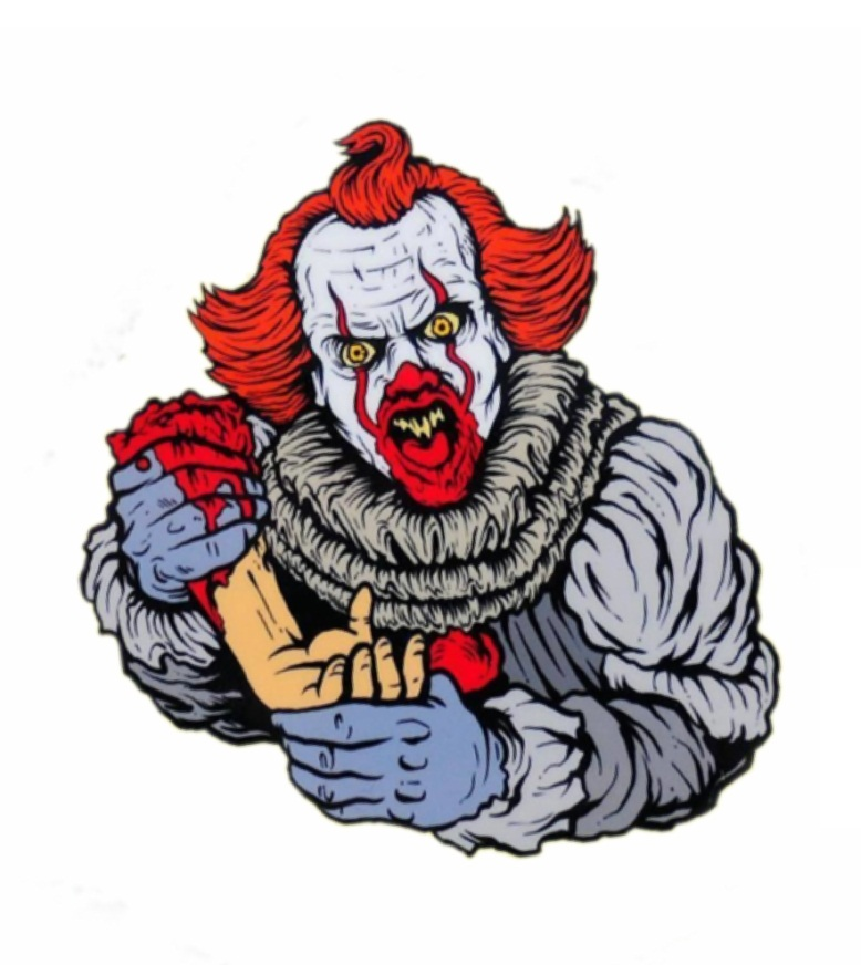 pennywise holding a hand