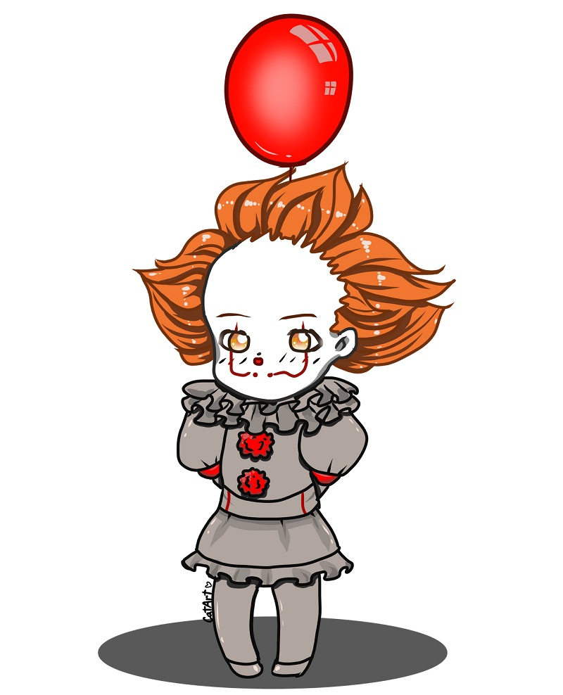 pennywise looks cute