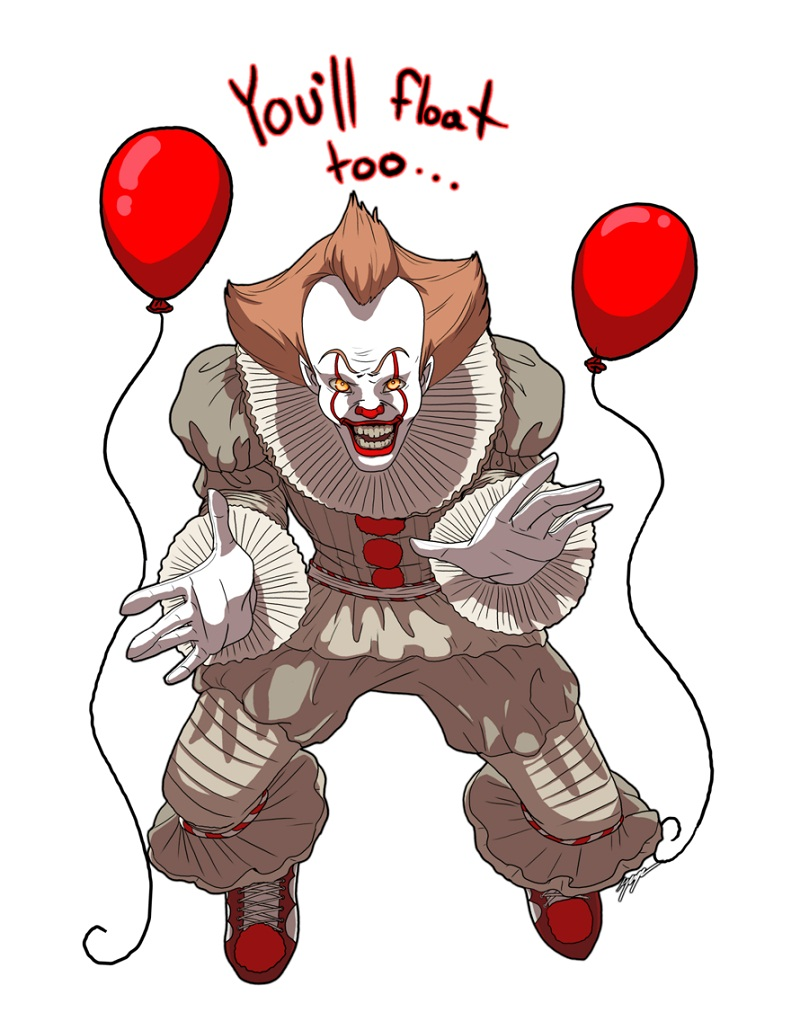 Pennywise IT Clipart