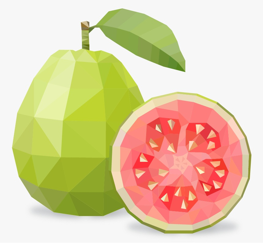 polygon guava fruit
