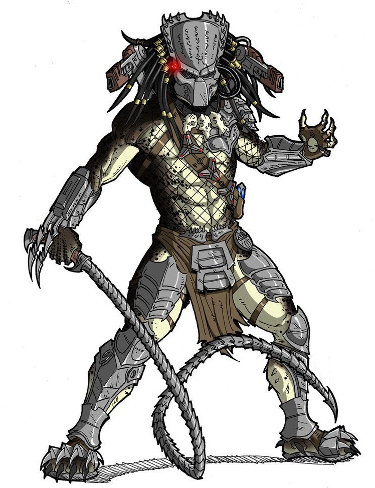 predator with whip