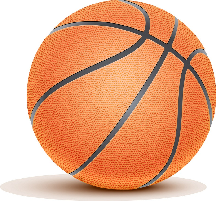 realistic basketball ball