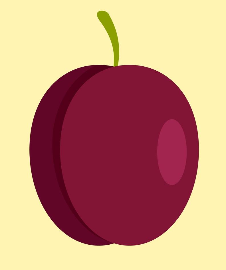 red plum icon