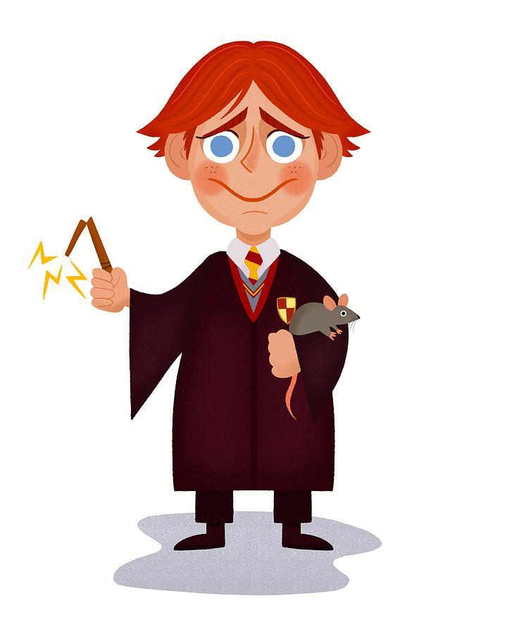 ron weasley and broken magic wand 2