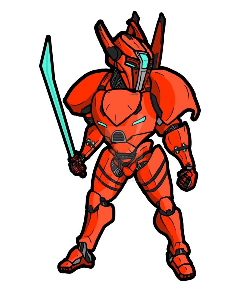 saber athena with sword