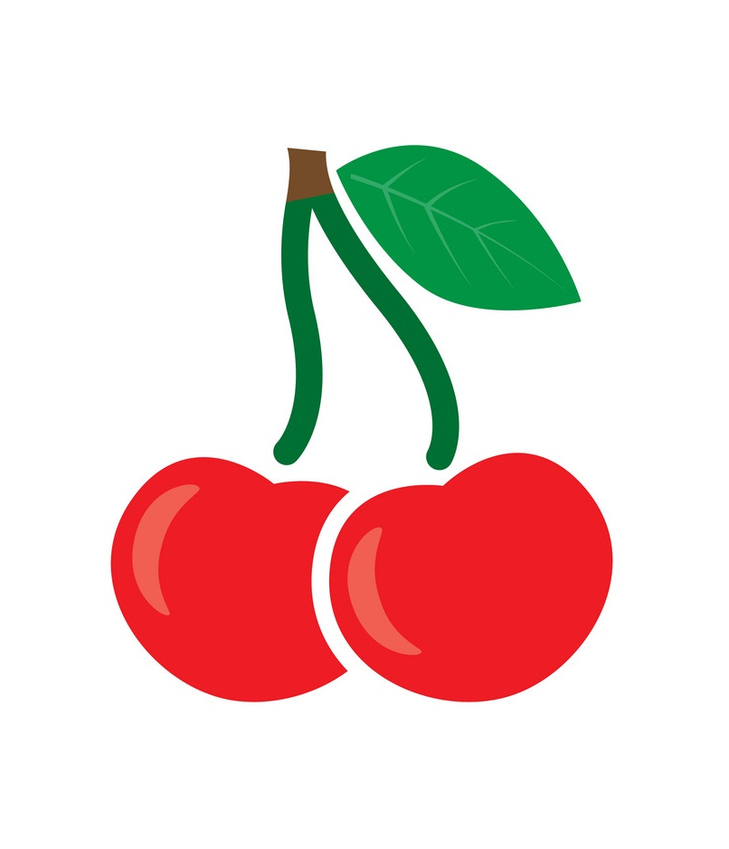 simple cherry icon