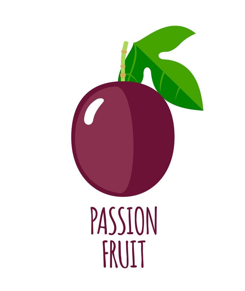 simple passion fruit