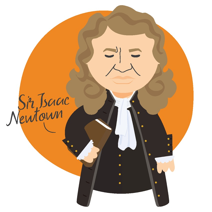Isaac Newton Clipart