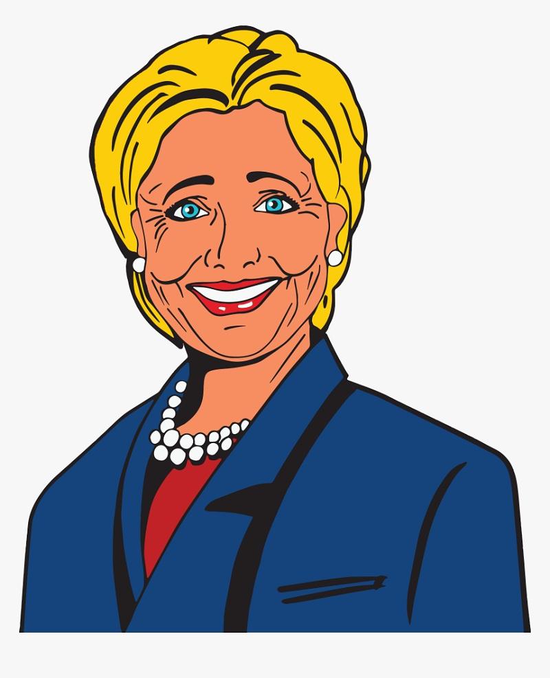Hillary Clinton Clipart