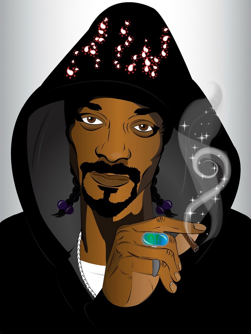 Snoop Dogg Clipart